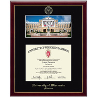 Cover Image For Church Hill Classics School Diploma Frame-Bascom Bucky Photo