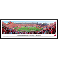 Image For Blakeway Panorama Camp Randall Framed Poster