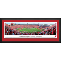 Image For Blakeway Panorama Camp Randall Deluxe Framed Poster