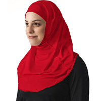 Cover Image For Asiya Fit Hijab (Red)