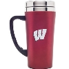 Image for Fanatic Group Wisconsin Travel Mug (Red)