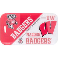 Image For Rico Industries, Inc. Bucky Badger Luggage Tag (Red/White)