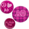 Cover Image for Alexandra and Company Alpha Phi Tumbler (White)