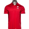 Image for Under Armour Wisconsin Sideline Polo (Red) *
