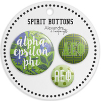 Cover Image For Alexandra and Company Alpha Epsilon Phi Floral Buttons