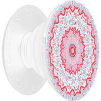 Image For Popsockets Phone Grip & Stand (Aztec Mandala Red)