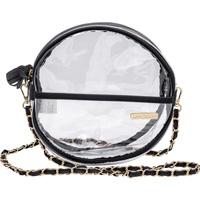 Cover Image For Capri Designs Clear Canteen Crossbody Bag *