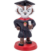 Cover Image For Bucky on Parade Graduation Bucky Figurine