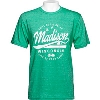 Image for Blue 84 Madison Wisconsin T-Shirt (Green) *