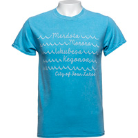 Image For Blue 84 Lake Waves T-Shirt (Blue)
