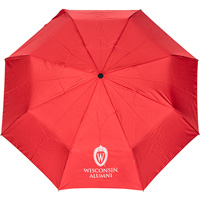 Image For Storm Duds Wisconsin Shield W Umbrella (Red)