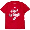 Image for Under Armour Youth Jump Around T-Shirt (Red)