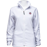 Image For Antigua Women's Bucky Badger Ice Jacket (White) *