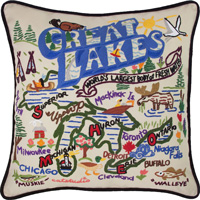 Cover Image For Catstudio Great Lakes Pillow