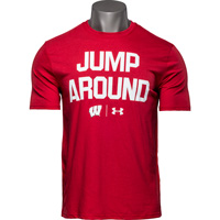 Cover Image For Under Armour Jump Around T-Shirt (Red)