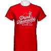 Cover Image for Drink Wisconsinbly Camp T-Shirt (Charcoal Gray)
