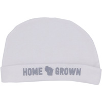 Image For About Face Designs, Inc. Home Grown WI Infant Cap (White)