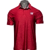 Image for Under Armour Wisconsin Polo (Heather Red)*
