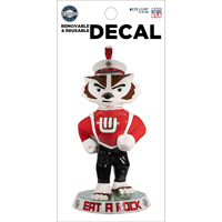 Image For CDI Bucky on Parade ... And On Wisconsin! Decal