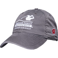Image For Legacy AmFam Wisconsin Hat (Gray) *