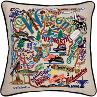 Image For Catstudio Wisconsin Pillow