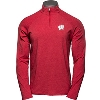 Image for Under Armour Wisconsin ¼ Zip Long Sleeve (Red)