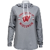Cover Image for Under Armour Women's Loose Fit Wisconsin W Tee (White) *