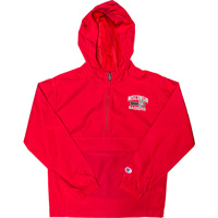 Image For Champion Youth Wisconsin Badger Packable Jacket (Red)*