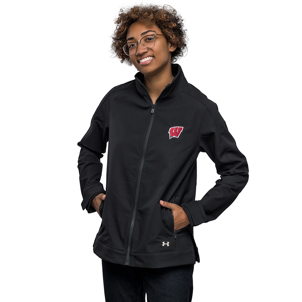 976df834d Under Armour Women's WI Softshell Jacket (Black) | University Book Store