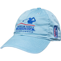 Image For Legacy AmFam PGA Tour Hat (Light Blue) *