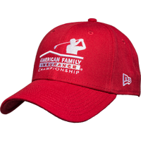 Image For New Era AmFam PGA Tour Hat (Red) *