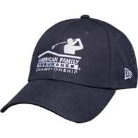 Image For New Era AmFam PGA Tour Hat (Navy) *