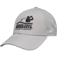 Image For New Era AmFam PGA Tour Hat (Light Gray) *
