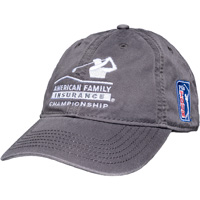 Image For Legacy AmFam PGA Tour Hat (Dark Gray) *