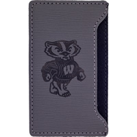 Cover Image For LXG Bucky Badger Velour Cell Phone Holder