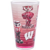 Image For Bucky on Parade Band Bucky Badger Pint Glass