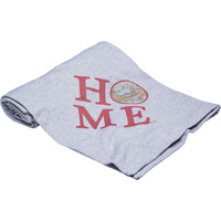 Image For Julio Designs Wisconsin Home Blanket (Gray)