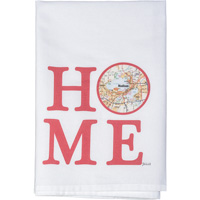 Image For Julio Designs Wisconsin Home Towel