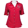Image for Cutter & Buck Women's Wisconsin Alumni Shirt (Red)