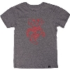 Image for '47 Brand Youth Vault Bucky Badger T-Shirt (Gray)