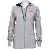 Image for Under Armour Women's Full Zip Wisconsin Hoodie (Gray) *