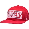 Cover Image for '47 Brand Adjustable Badgers Snapback (Red) *