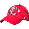 Image for '47 Brand Adjustable Wisconsin Alumni Hat (Red)