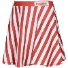 Image for ZooZatz Women's Striped Skirt (Red/White) *