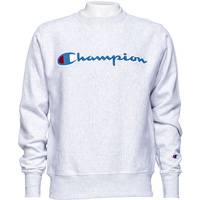 Cover Image For Champion Reverse Weave Crew Neck Sweatshirt (Ash Gray)