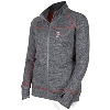 Image for ZooZatz Women's Bucky Badger Full Zip Jacket (Graphite) Plus