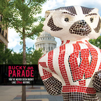 Cover Image For KCI Sports Publishing Bucky On Parade Hardcover Book
