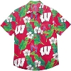 Image for FOCO Wisconsin Floral Shirt (Red)