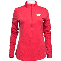 Cover Image For Under Armour Women's ¼ Zip (Red) *