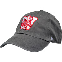 Cover Image For '47 Brand Adjustable Bucky Badger Vault Block W Hat (Grey) *